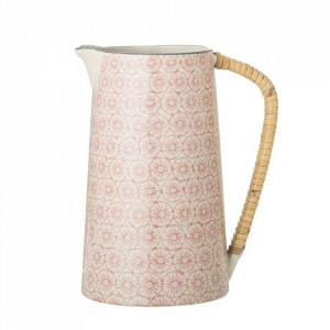 Carafa rosie din ceramica 800 ml Cecile Bloomingville