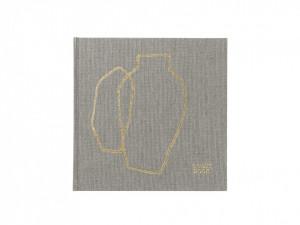 Carte din carton si canvas pentru oaspeti Guestbook Ferm Living