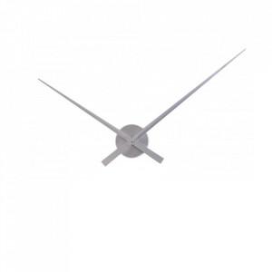 Ceas perete argintiu din aluminiu 80 cm Big Time Invicta Interior