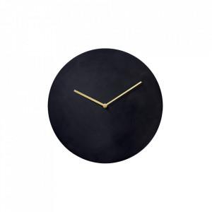 Ceas perete rotund din alama 30 cm Norm Bronzed Brass Menu