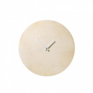 Ceas rotund din lemn 25 cm Bloomingville