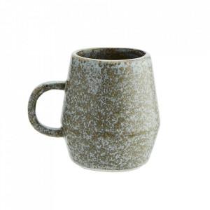 Ceasca grej din ceramica 8x9 cm Vitto Madam Stoltz