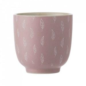 Ceasca roz din ceramica 200 ml Feather Bloomingville