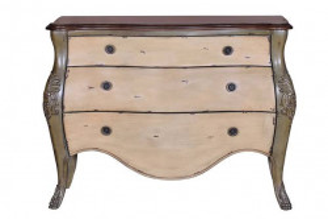 Comoda multicolora din lemn de paulownia 102 cm Illo Giner y Colomer