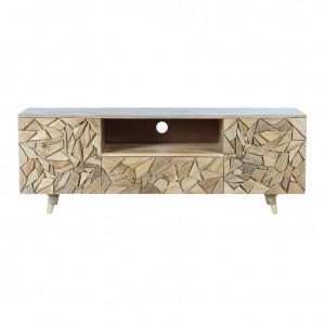 Comoda TV maro din lemn de mango 155 cm Selin Giner y Colomer