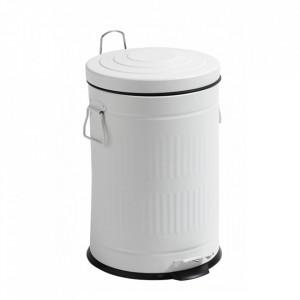 Cos de gunoi alb din metal 20 L Alan Ale Nordal