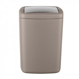 Cos de gunoi grej/argintiu din elastomer termoplastic 8,5 L Dyar Wenko