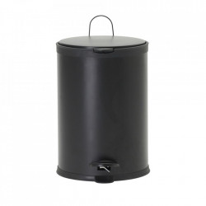 Cos de gunoi negru din fier 20 L Eda House Doctor