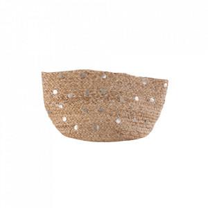 Cos de rufe maro din iuta 30x40 cm Roberts Vical Home