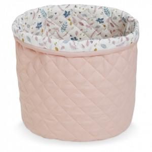 Cos roz din bumbac organic Deny Blossom Pink Cam Cam