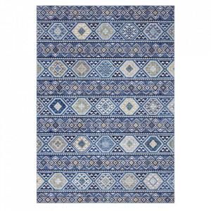 Covor albastru din poliester Imagination Anatolian Sapphire Blue Elle Decor (diverse dimensiuni)