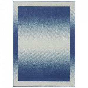 Covor albastru din polipropilena Retro Pattern The Home (diverse dimensiuni)