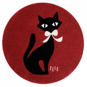 Covor bordo din poliamide 100 cm Viva Felidae Elle Decor