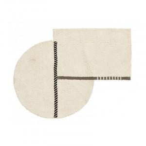 Covor din bumbac 105x135 cm Zenia Nordal