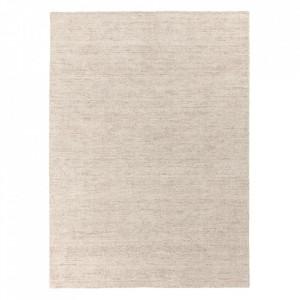 Covor din lana si viscoza Oat Sand Ligne Pure (diverse dimensiuni)