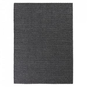 Covor din lana si viscoza Rythm Graphite Ligne Pure (diverse dimensiuni)