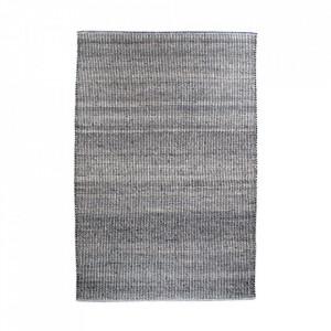 Covor gri deschis din lana si bumbac 160x230 cm Ohio House Nordic
