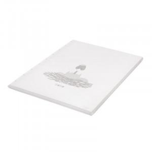 Covor joaca alb din PVC 72x93 cm Bobo Ruler Quax