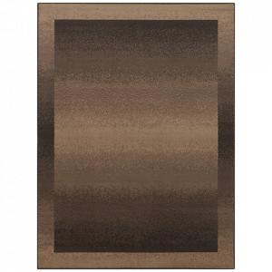 Covor maro din polipropilena Retro Pattern The Home (diverse dimensiuni)