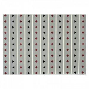 Covor multicolor din fibre acrilice 140x200 cm Pattern Lorena Canals