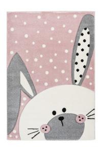 Covor multicolor din polipropilena 120x170 cm Amigo Rabbit Lalee