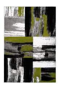 Covor multicolor din polipropilena Swing Green Lalee (diverse dimensiuni)