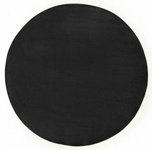 Covor rotund negru Fancy Uni Hanse Home (diverse marimi)
