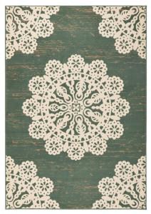 Covor verde Gloria Lace Hanse Home (diverse marimi)