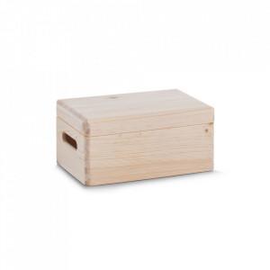 Cutie cu capac maro din lemn All Purpose Boxes Zeller