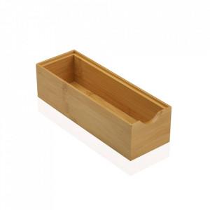 Cutie maro din lemn Caja Pequeno Versa Home