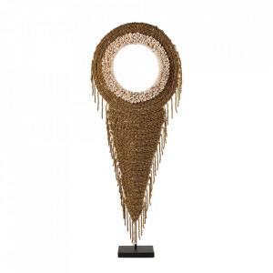 Decoratiune aurie din metal si scoici 79 cm Necklace Versmissen