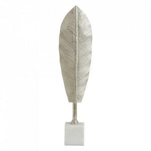 Decoratiune din marmura si aluminiu 47 cm Maui Nordal