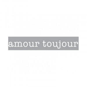 Decoratiune luminoasa alba din sticla Neon Art Amour Toujours Seletti