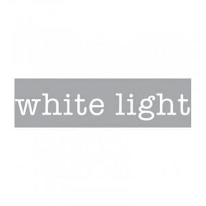 Decoratiune luminoasa alba din sticla Neon Art White Light Seletti
