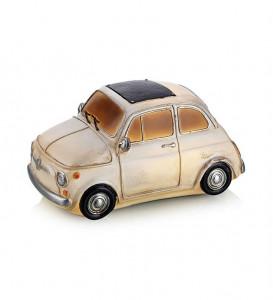 Decoratiune luminoasa LED alba din rasina Nostalgi Fiat Markslojd