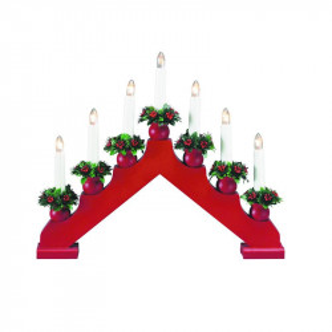 Decoratiune luminoasa rosie/verde din lemn si plastic Tomas Markslojd