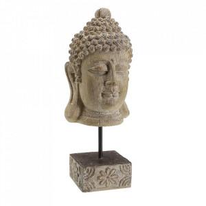 Decoratiune maro din rasina 35 cm Buddha Versa Home
