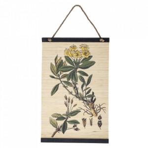 Decoratiune multicolora din bambus 40x62 cm pentru perete Mars Bloomingville