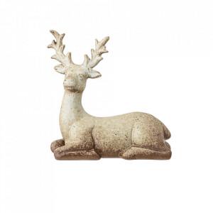 Decoratiune multicolora din ceramica 15 cm Reindeer Bloomingville