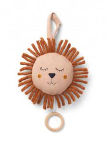 Decoratiune muzicala suspendabila din in Lion Dusty Rose Ferm Living
