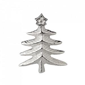 Decoratiune pentru lumanari din otel argintat 5 cm Candlepin Fir Edzard