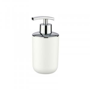 Dispenser sapun lichid alb din plastic 320 ml Nabu Wenko