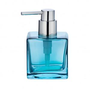 Dispenser sapun lichid albastru din sticla 280 ml Lavit Wenko