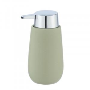 Dispenser sapun lichid verde din ceramica 320 ml Sammi Wenko