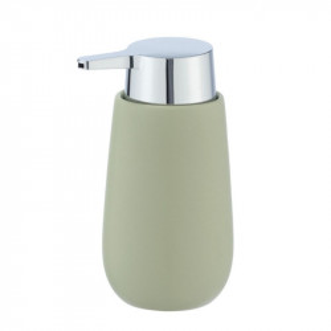 Dispenser verde lime/argintiu din ceramica 320 ml Sammi Wenko