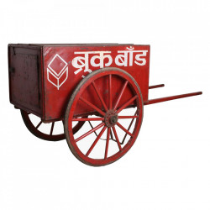 Dulapior rosu din lemn Tea Caddy Raw Materials