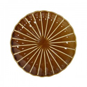 Farfurie ceramica 20 cm Striped Desert HK Living