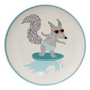 Farfurie ceramica albastra 20 cm Benjamin Bloomingville