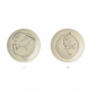 Farfurie din ceramica 20 cm Adine Bloomingville