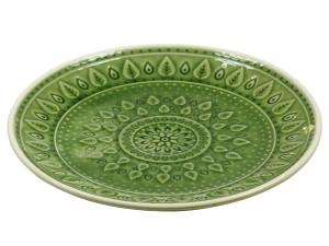 Farfurie din portelan pentru desert 20 cm Green Natural Santiago Pons